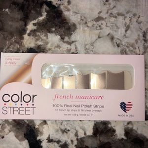 (Two) Ciao Milano!Color Street French Manicure
